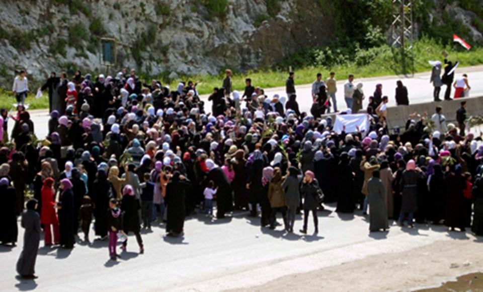 Dün Beyda yakınlarındaki karayolu eylem düzenleyen kadınlar tarafından kapatıldı.