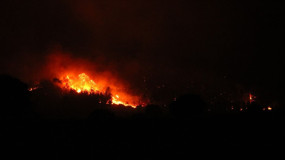 Antalya Manavgat'ta büyük yangın - 15
