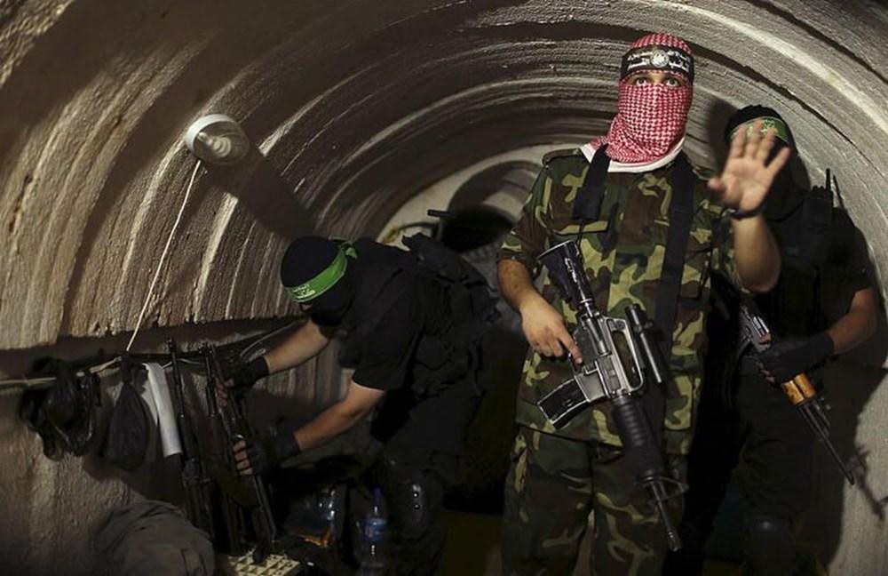 Hamas'ın Gazze'de kullandığı tüneller görüntülendi: İsrail'in hedefinde - 3