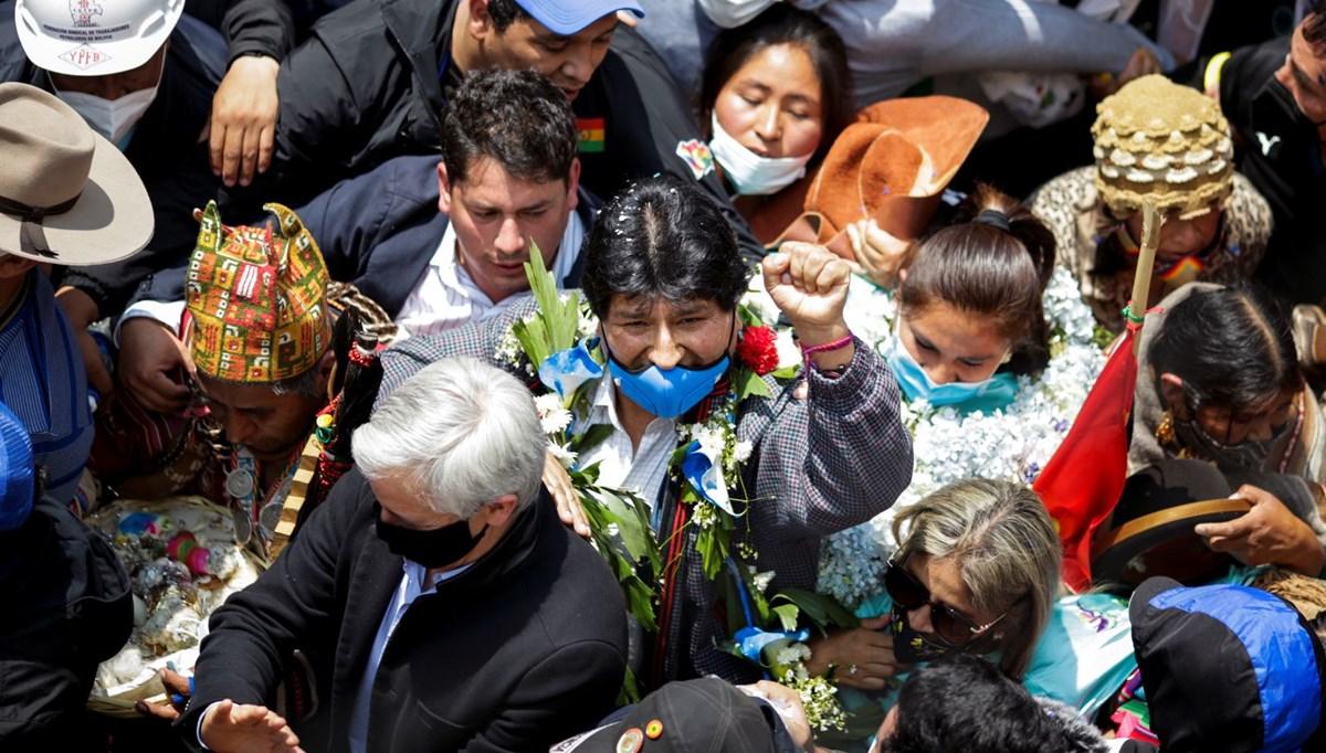 Morales ülkesi Bolivya'ya geri döndü