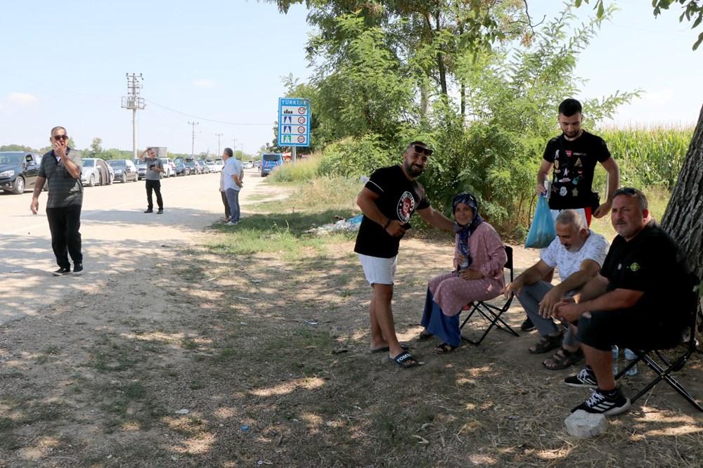 Gurbetçilerin dönüş çilesi: Sınırda uzun kuyruk - 8
