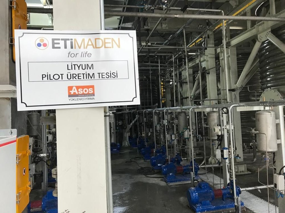 Türkiye'nin ilk lityum üretim tesisi resmen açıldı - 15