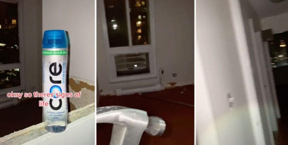 New Yorklu bir kadın banyo aynasının arkasında gizli bir ev buldu - 5