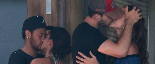 Neymar sevgilisi Bruna Marquezine ile yat turunda