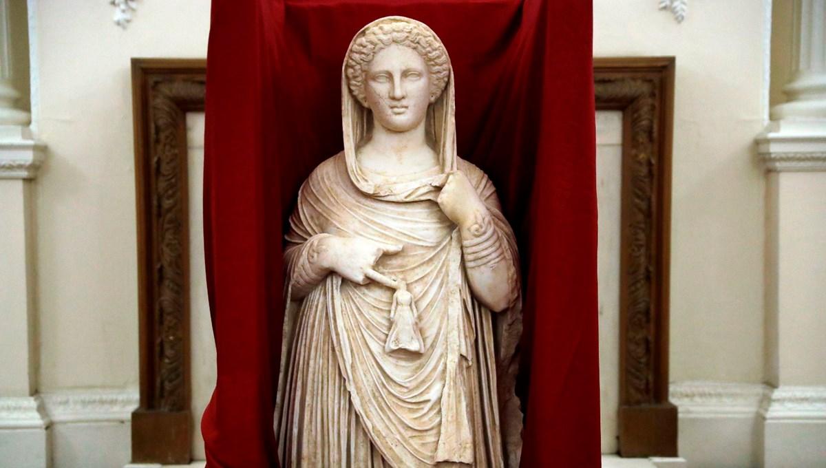 Tanrıça Demeter heykeli Libya'ya döndü