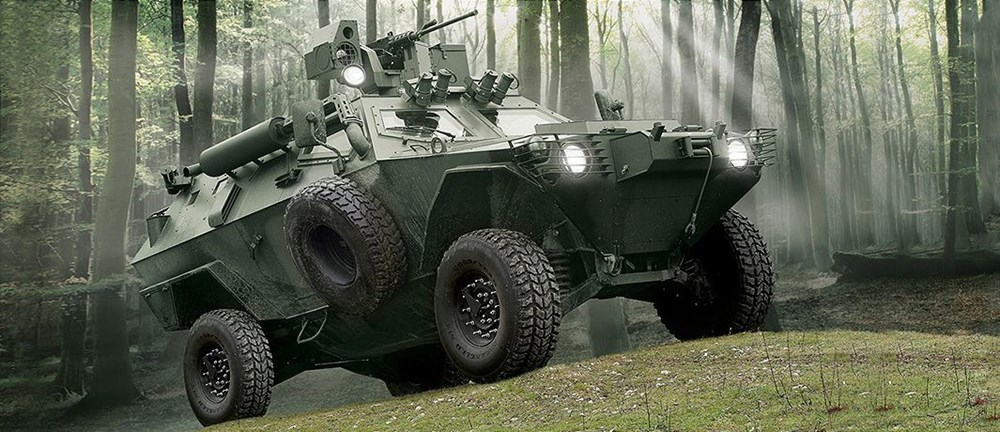 Dijital birliğin robot askeri Barkan göreve hazırlanıyor (Türkiye'nin yeni nesil yerli silahları) - 209
