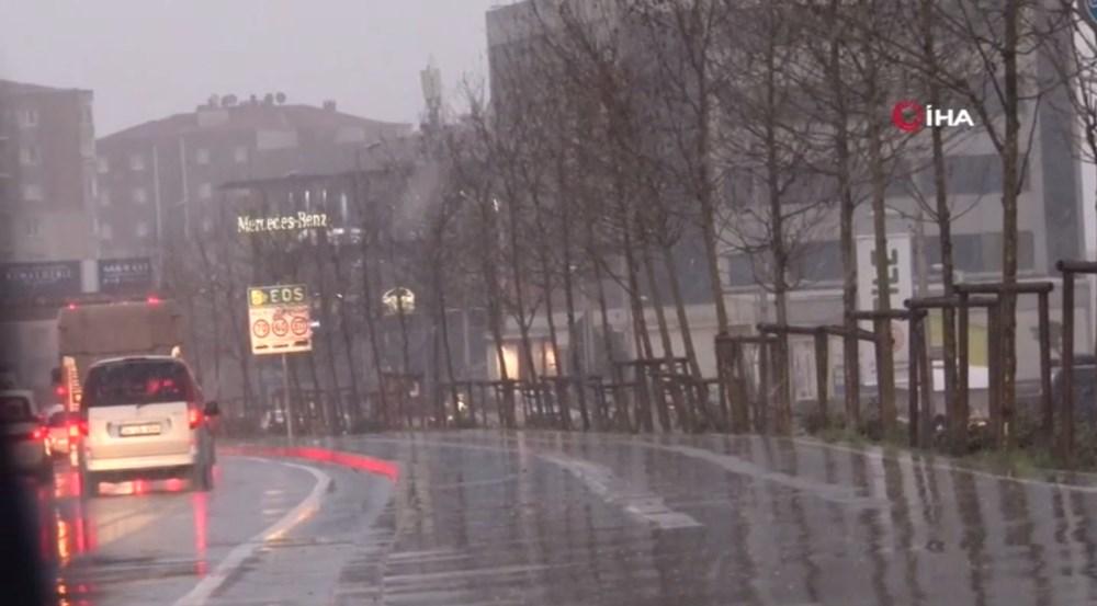 İstanbul'da beklenen kar yağışı başladı - 7
