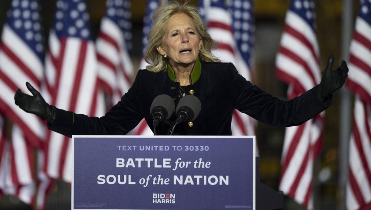 Jill Biden: Joe Biden'ın en büyük destekçisi