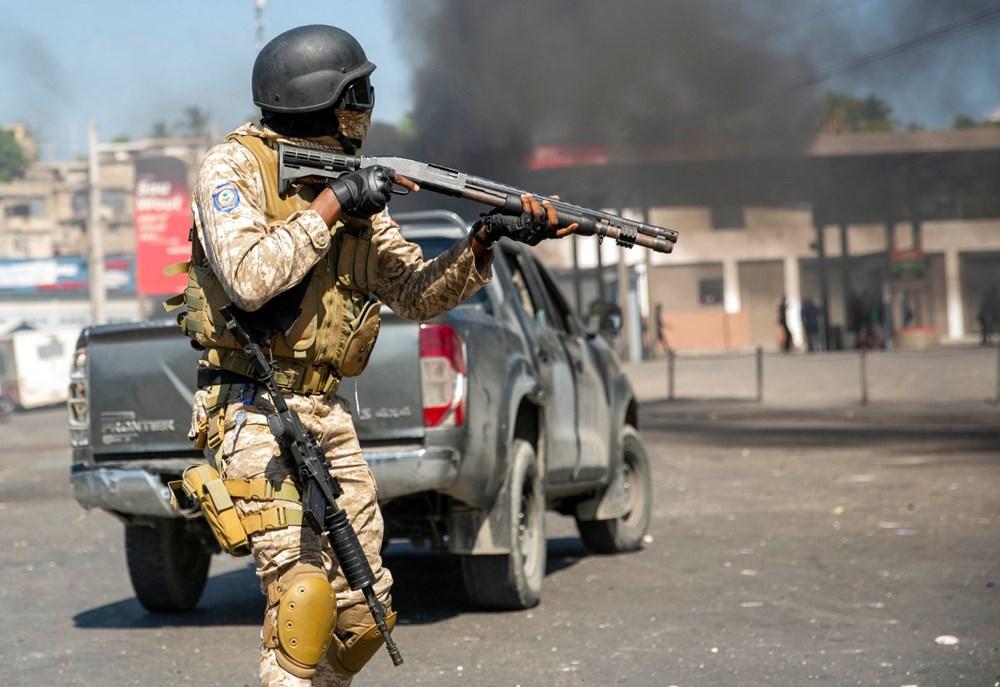 Haiti'de hükümet karşıtı protestolara sert müdahale - 5