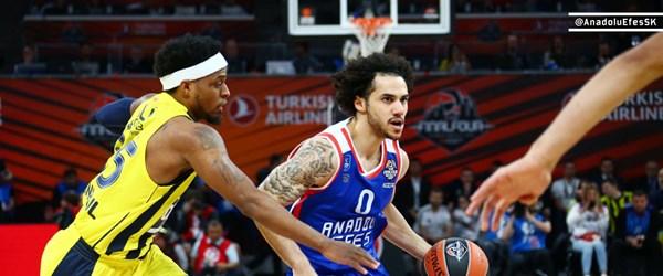 Anadolu Efes EuroLeague'de finale yükseldi (Anadolu Efes-CSKA Moskova finali)