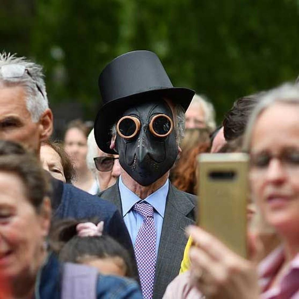 Maske karşıtı yüzlerce kişiden protesto - 5