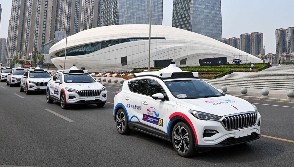 Çin'de sürücüsüz taksi dönemi: Robotaxi