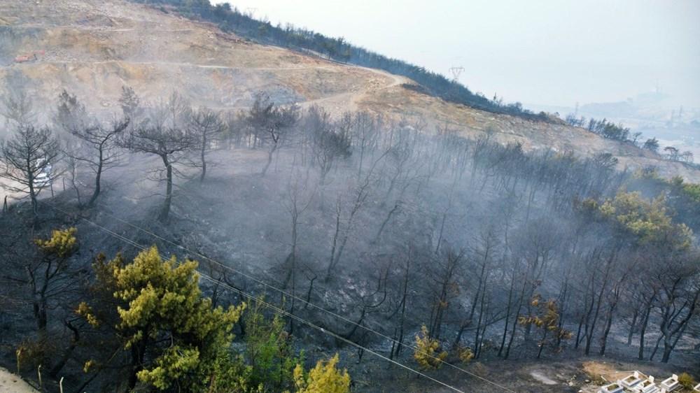 Hatay İskenderun'daki yangın 22 saat sonra kontrol altında - 2