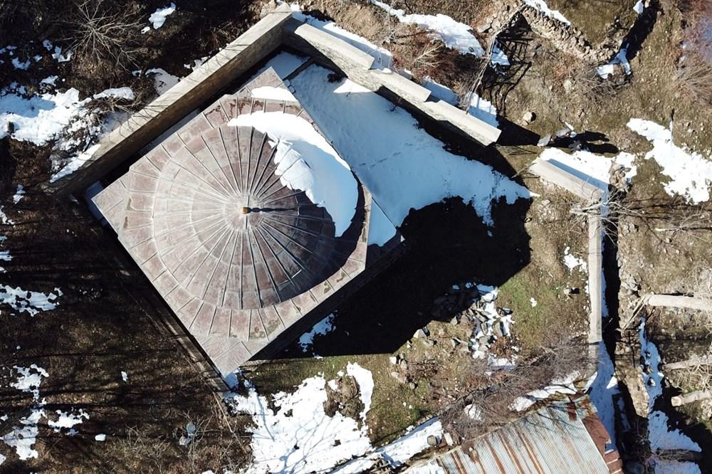Gümüşhane'deki 800 yıllık ecdat yadigarı camiye eksik restorasyon iddiası - 9