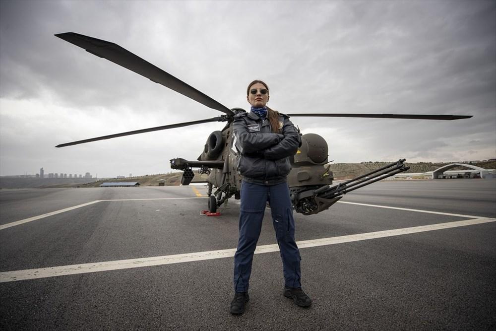 Türkiye'nin ilk kadın taarruz helikopter pilotu - 6