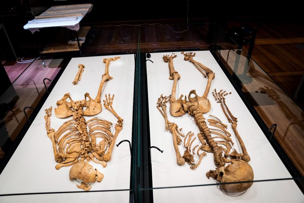 İki Viking savaşçısının kalıntıları Danimarka Ulusal Müzesi'nde - 4