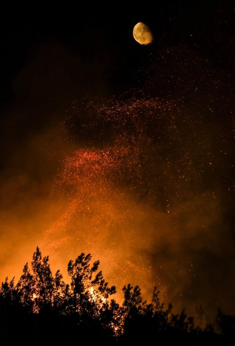 Antalya, Adana, Mersin, Aydın, Muğla, Osmaniye, Kayseri ve Manisa'da orman yangınları - 45