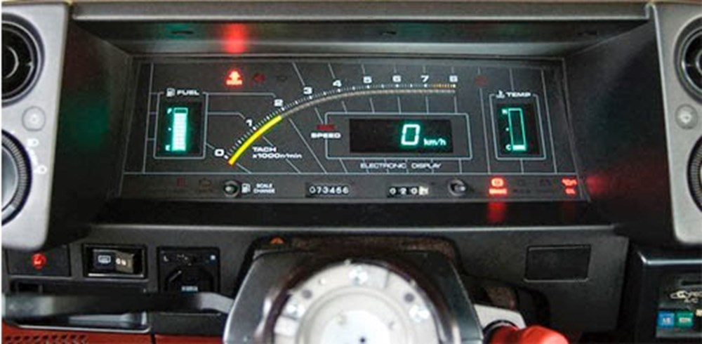 80'li yıllara damgasını vuran otomobil konsolları - 17