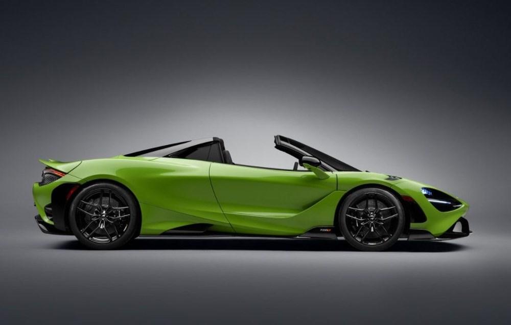 McLaren tarihinin en hızlı üstü açık modeli tanıtıldı:  765LT Spider - 17