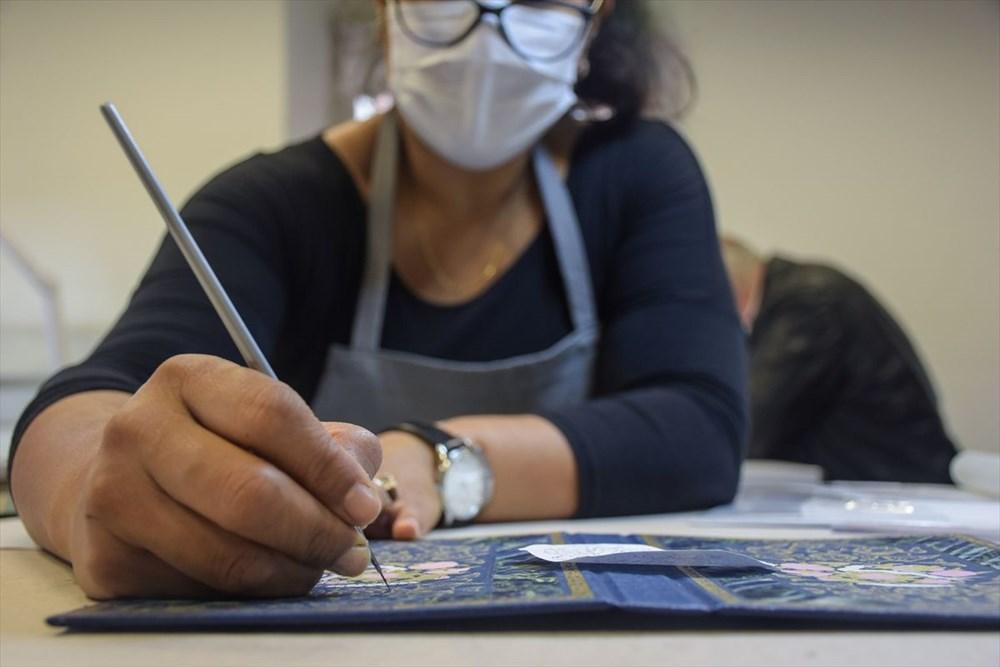 Meksikalı sanatçı Sofia Chavez'in Dolmabahçe Sarayı'na uzanan sanat yolculuğu - 5
