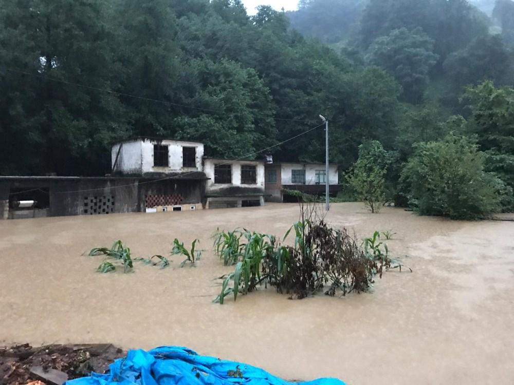 Şiddetli yağış Rize'yi de vurdu: 2 can kaybı - 6