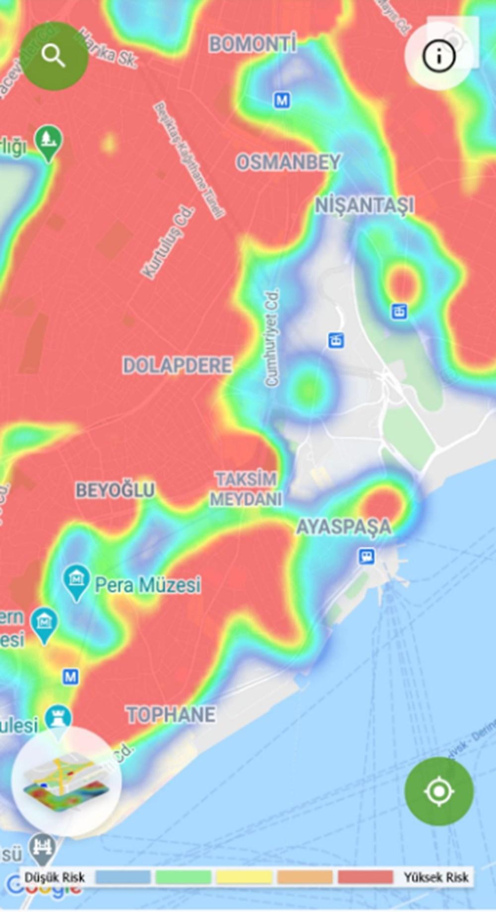 Corona haritası kızarıyor (İstanbul'un en güvenli ilçeleri) - 35