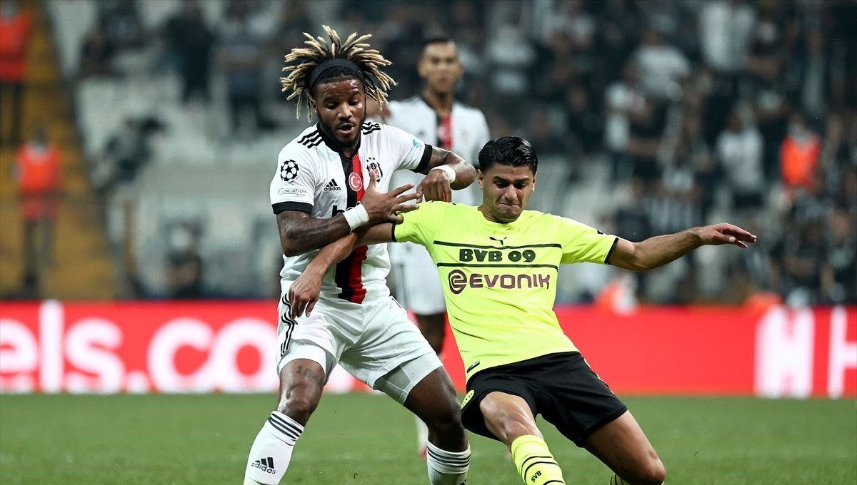 SON DAKİKA: Beşiktaş, Borussia Dortmund'a 2-1 yenildi