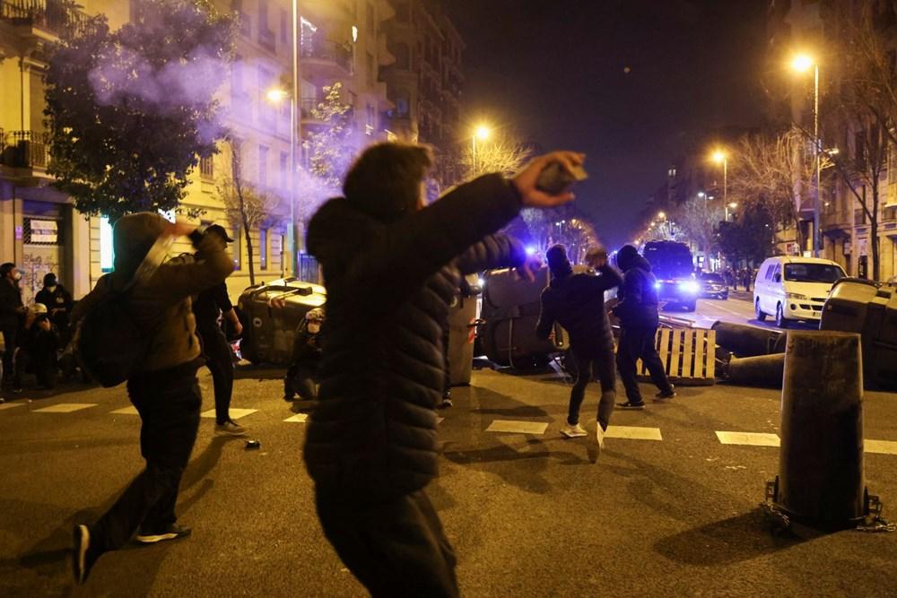 İspanya'da tutuklanan rapçi Hasel'e destek gösterileri üçüncü gününde - 6