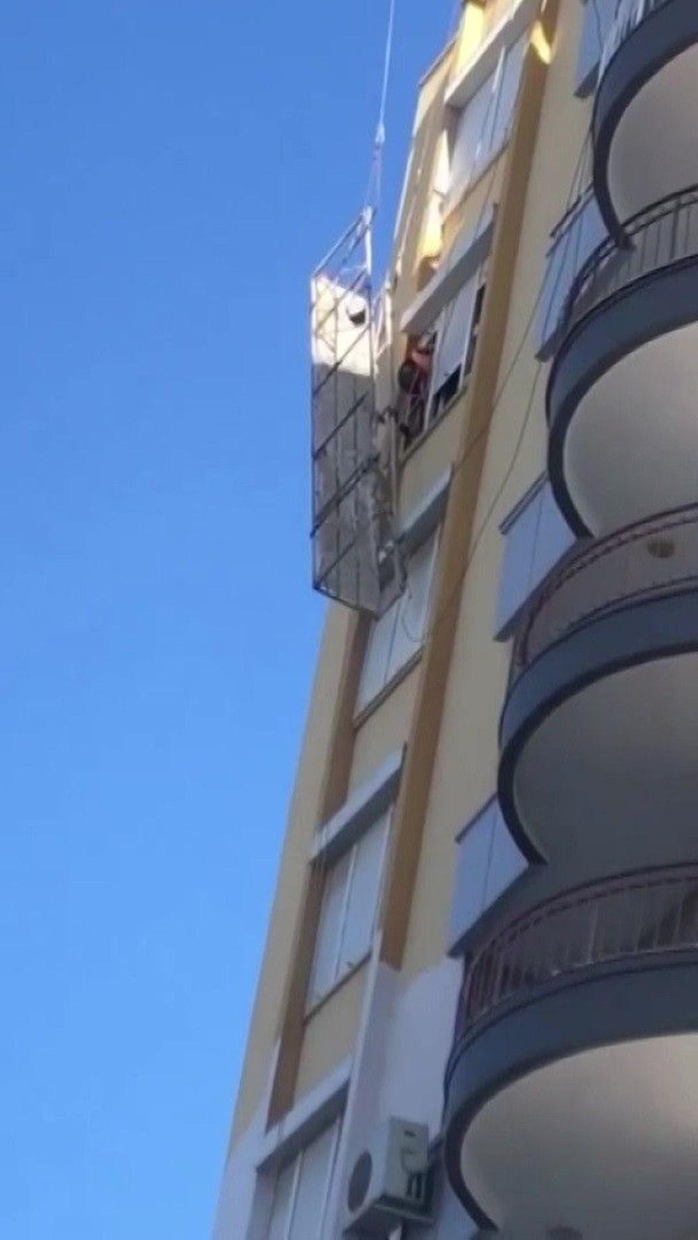 8'inci katta ölümle burun buruna - 3