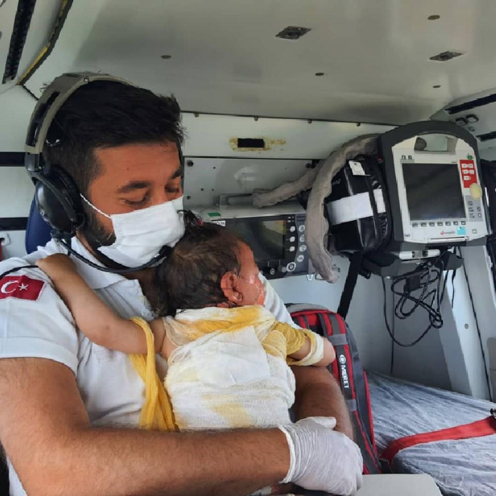 Beril bebekten iyi haber: Hayati tehlikesi yok - 10