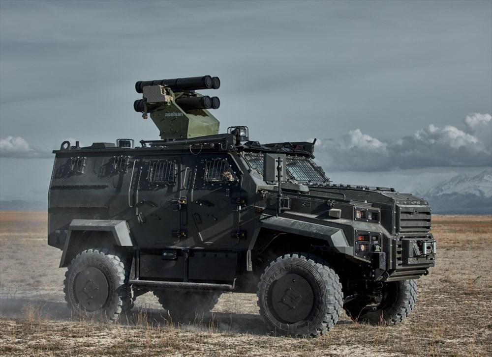 Dijital birliğin robot askeri Barkan göreve hazırlanıyor (Türkiye'nin yeni nesil yerli silahları) - 214