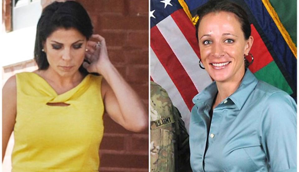 Jill Kelley (solda) ve Paula Broadwell, CIA'daki aşk skandalının merkezinde yer almıştı.
