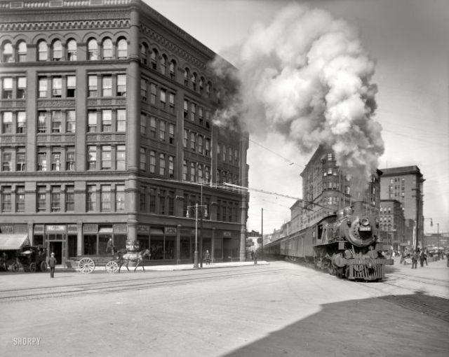 100 yıl öncesinden New York manzarası