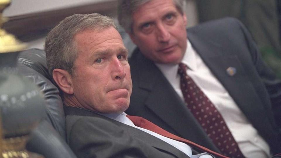 Bush'un 11 Eylül fotoğrafları yayımlandı