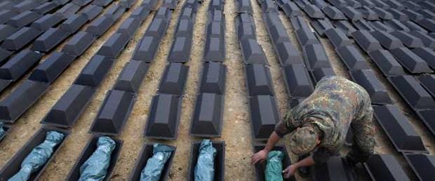 2. Dünya Savaşı'nda öldüler, yeni gömüldüler