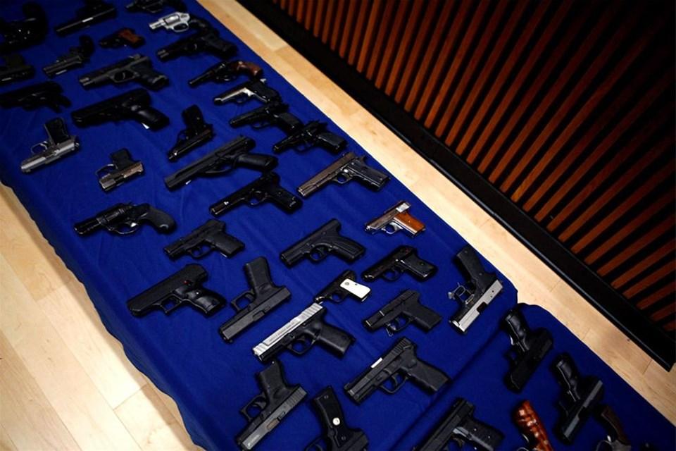 254 silah, 21 gözaltı
