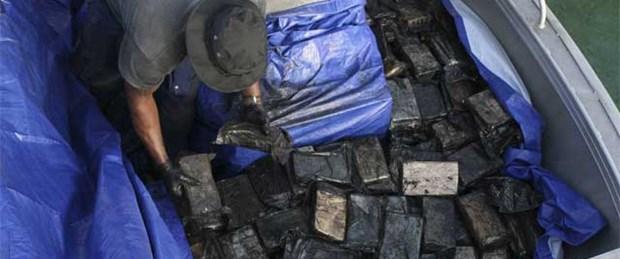 330 milyon dolarlık kokain ele geçirildi