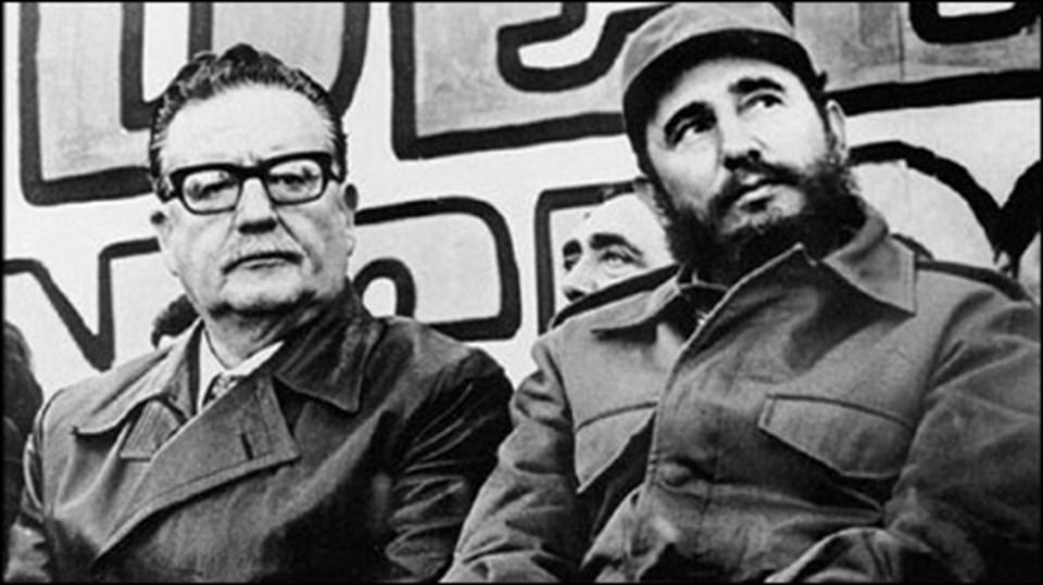 Bachelet'en önce Küba'yı ziyaret eden son Şili devlet başkanı Allande olmuştu