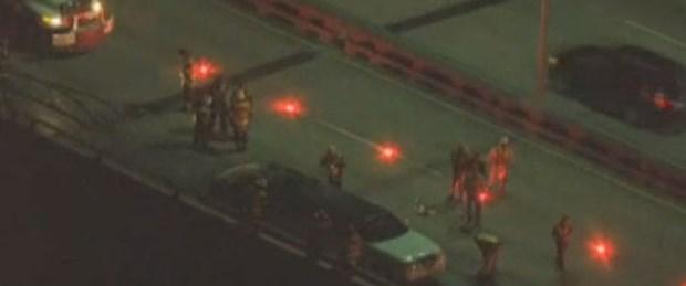 5 kişi limuzinde yanarak can verdi