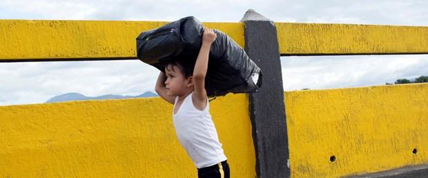 kolombiya venezuela sınırı, maduro, venezueala açlık, çocuk
