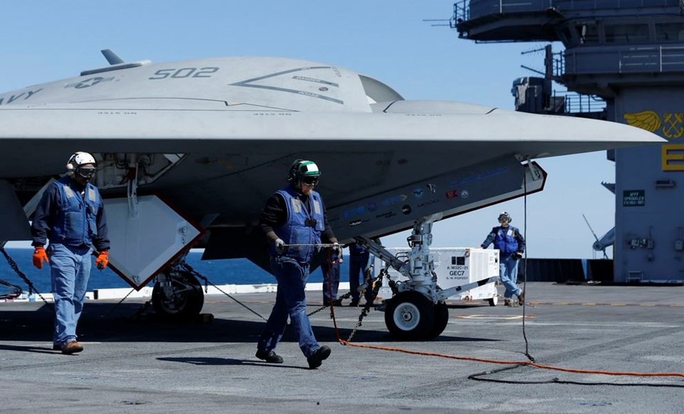 ABD donanmasında bir ilk