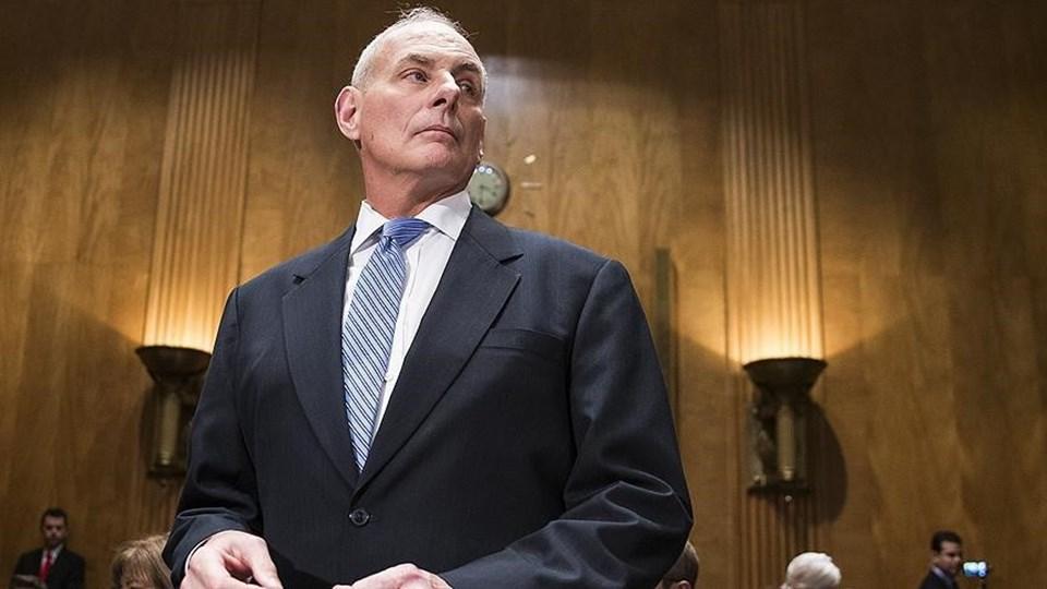 ABD İç Güvenlik Bakanı John Kelly