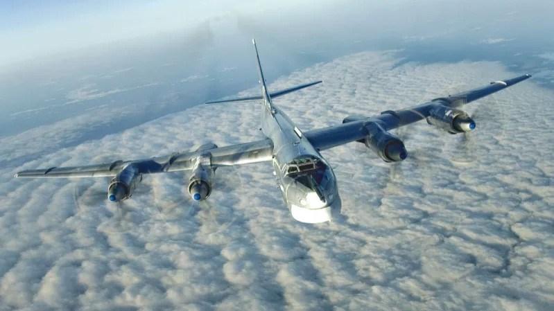 Rus TU-95 bombardıman uçağı