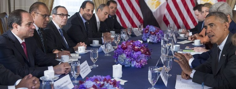 ABD Başkanı Barack Obama, Mısır Cumhurbaşkanı Abdulfettah es Sisi ile geçtiğimiz yıl eylül ayında New York'ta buluşmuştu.
