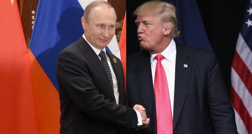 """ABD Başkanı Donald Trump seçim kampanyası döneminde Rusya Devlet Başkanı Vladimir Putin'i överken, """"Obama'dan daha akıllı olduğu kesin"""" demişti."""