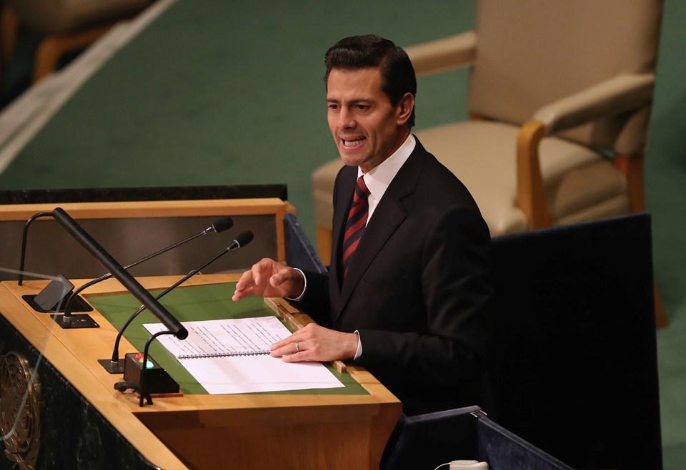 Meksika Devlet BaşkanıEnrique Pena Nieto