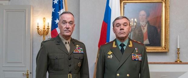 ABD ve Rusya Genelkurmay başkanları telefonda görüştü