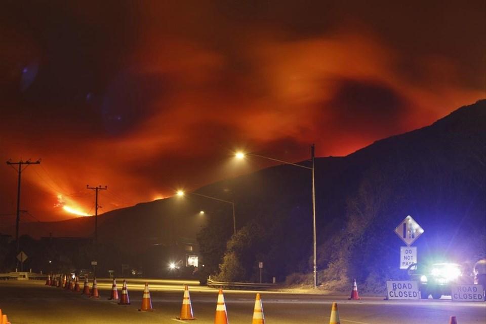 ABD yangınla mücadele ediyor