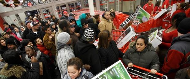 ABD'de alışveriş çılgınlığı