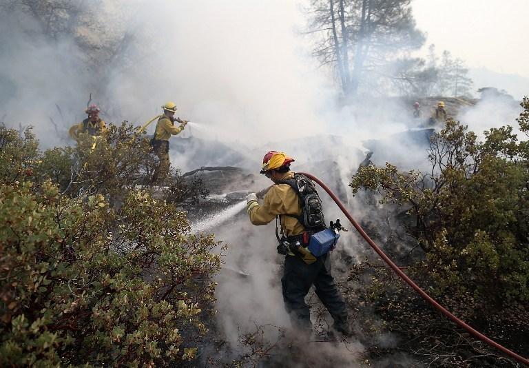 ABD'de çıkan yangın kontrol altına alınamadı